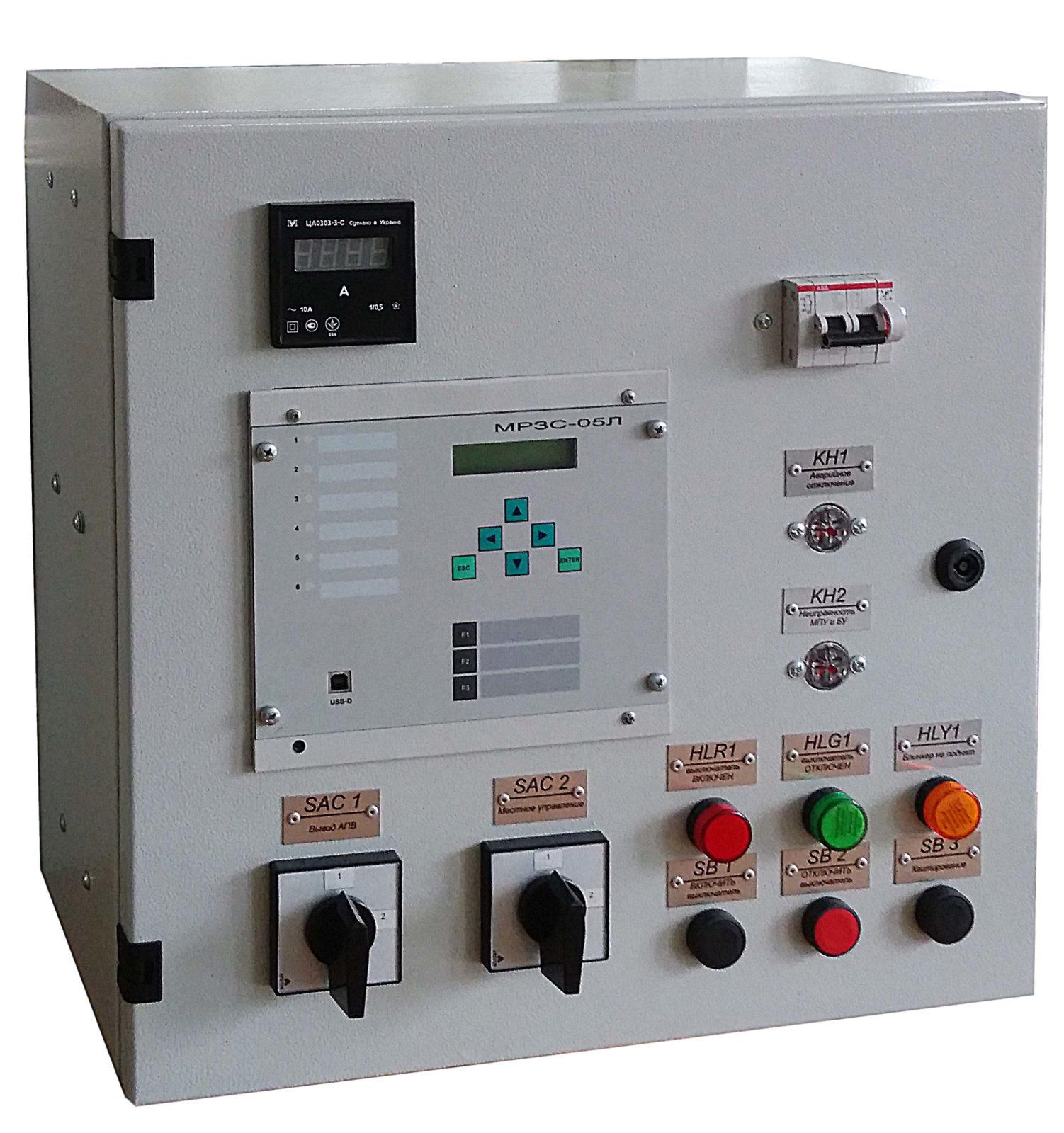 Шкафы релейной защиты и автоматики серии ШУАЗ-10
